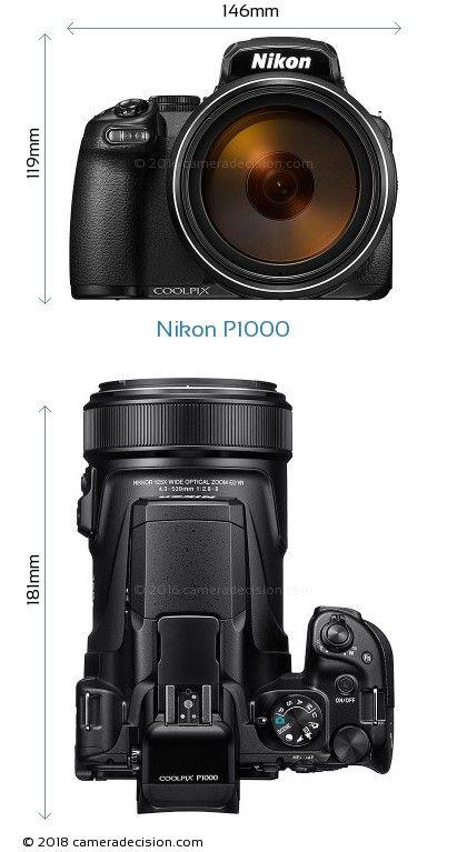 Nikon P1000 Body Size Dimensions Nikon Coolpix Coolpix Nikon