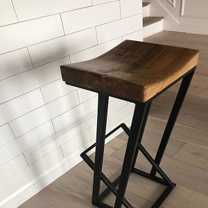 Height 13 40in 33 99cm And Wood Bar Stool Wood Bar Stools