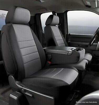 Ad Ebay Np97 10 Gray Fia Np97 10 Gray Neo Neoprene Universal Fit Seat Cover Truck Seat Covers Custom Seat Covers Grey Seat Covers