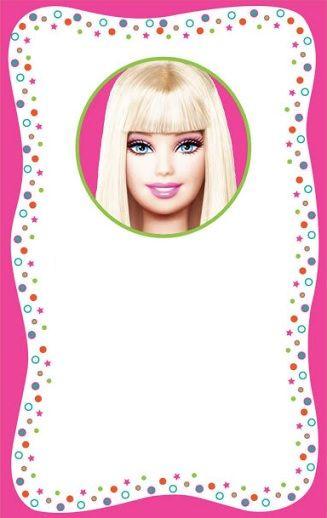 invitaciones de cumpleanos de barbie