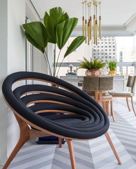 Pleasant Gorgeous Modern Accent Chair En 2019 Diseno De Muebles Ibusinesslaw Wood Chair Design Ideas Ibusinesslaworg