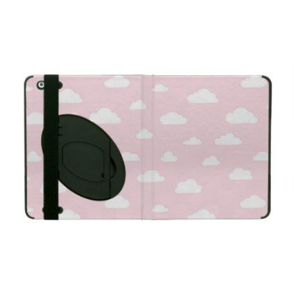 White cartoon clouds on pink background pattern ipad cover white cartoon clouds on pink background pattern ipad cover pattern sample design template diy cyo pronofoot35fo Gallery