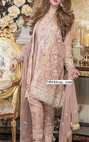 e9858b0bc236 Tea Pink Chiffon Suit | Buy Maheen Kardar Pakistani Dresses and Clothing  online in USA, UK