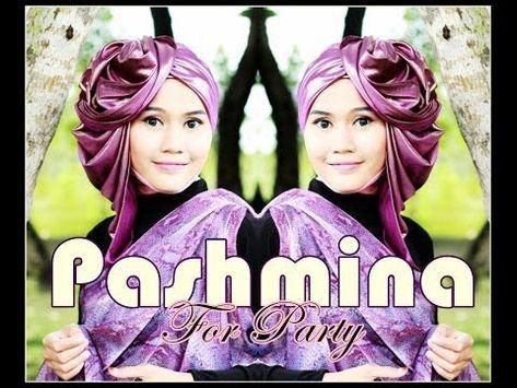 Tutorial Hijab Modern Glitter Pashmina Untuk Pesta By Didowardah