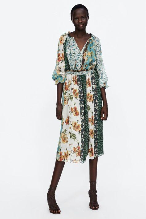 ###Zara Patchwork Print DressSHOP NOW: [Zara](https://www.zara.com/us/en/patchwork-print-dress-p07985121.html){: rel=nofollow}, $99.90