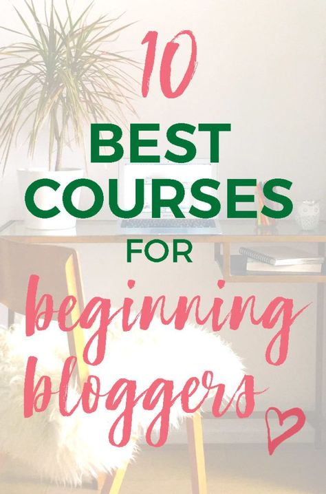 10 Best Blogging Training Courses For Beginners 2019