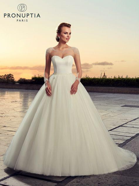 avant-garde de l'époque nouvelle saison comment commander Robe de mariée Haussmann, robe de mariée princesse et ...
