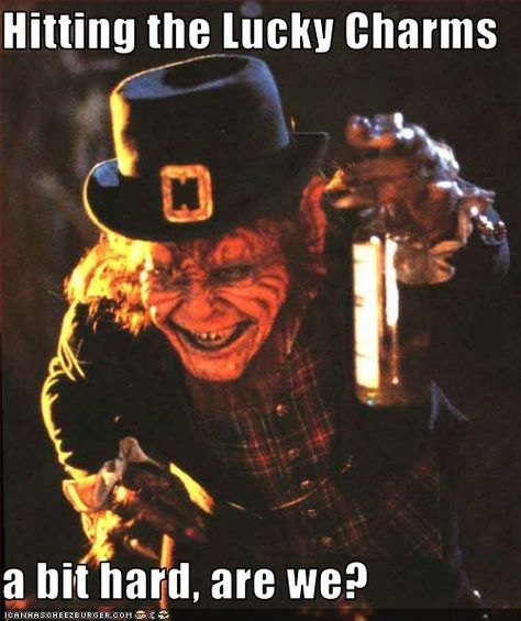 Leprechaun Movie Meme | ROFLrazzi - leprechaun - All That\'s Fab ...