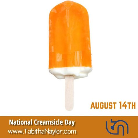 #NationalCreamsicleDay is observed annually on August 14. This is a day to enjoy this refreshing summertime orange and vanilla treat. As a…