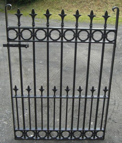 Edwardian Gate Wrought Iron Style Victorian Garden Gate