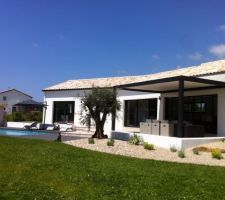 VILLA ELENA étage contemporaine avec toiture terrasse accessible ...