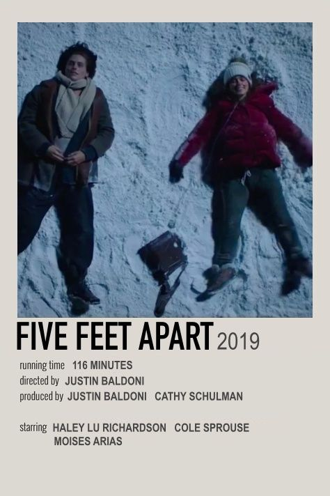 five feet apart movie polaroid