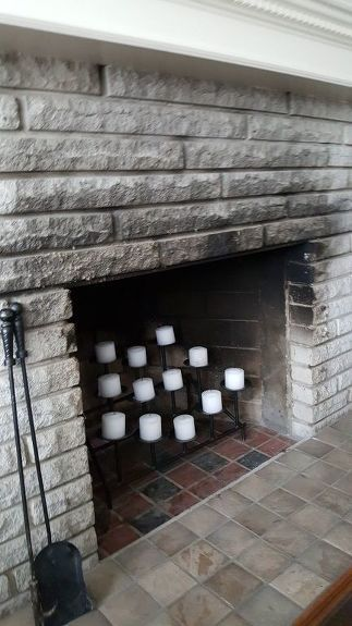 How Fo I Remove Fireplace Soot Smoke Clean Fireplace Cleaning Stone House Cleaning Tips