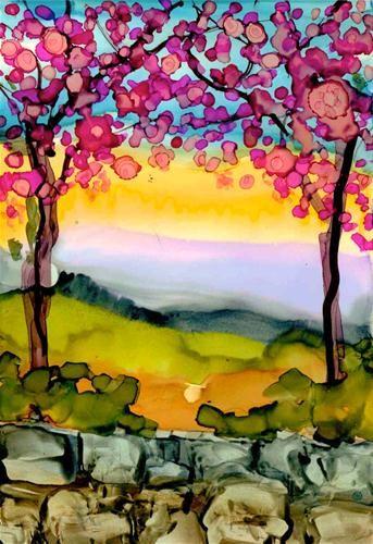 """""""Just Before Dusk"""" - Original Fine Art for Sale - © Kelly Alge"""