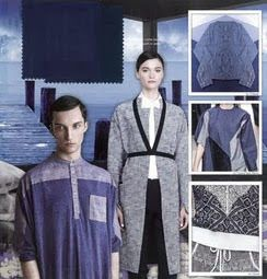 ELEMENTS - COLORS AND MATERIAL TRENDS . S/S 2015