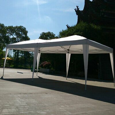 Advertisement Ebay 3 X 6m Home Use Outdoor Camping Waterproof Folding Tent With Carry Bag White Patio Tents Gazebo Party Tent