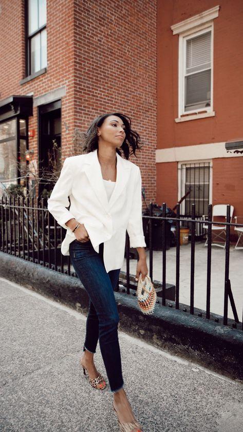 Love a white blazer?