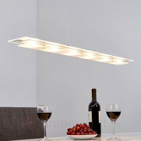 Energiesparende LED-Hängelampe Lavon