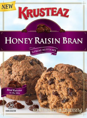 Krusteaz Honey Raisin Bran In Mix