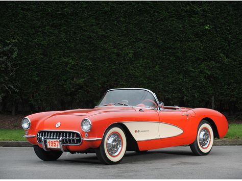 1957 Chevrolet Corvette Roadster   I am not an oldies car kind of person but this has been one of my favorities my whole life.