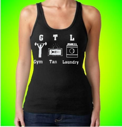 Gtl Gym Tan Laundry With Characters Tank Top Women S Tops Tank