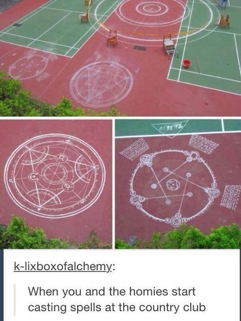 But those aren't spells, that's a human transmutation and reverse transmutation circle Fullmetal Alchemist Mustang, Fullmetal Alchemist Alphonse, Fullmetal Alchemist Brotherhood, Anime Meme, Alec And Jace, Memes Arte, Fresh Memes, Stupid Funny Memes, Tumblr Funny