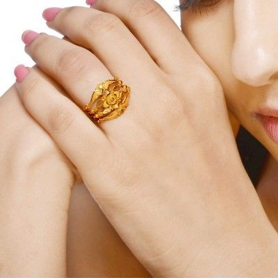 Get The Best Online Gold Ring Shopping For Women Of Latest Range And Design From Senco Gold Diamonds Gold Ring Designs Gold Pearl Jewelry Gold Rings Jewelry