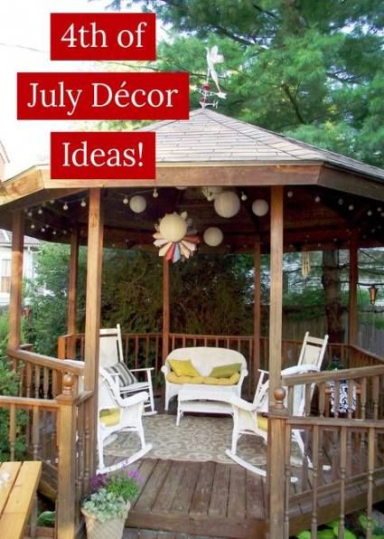 43 Ideas Backyard Gazebo Decorations Lanterns Backyard Gazebo