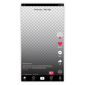 Tiktok Tik Tok Musicalmente Logo Icono Social Media Icons Set Logo Vector Ilustrador Interface Design App User Interface App Interface