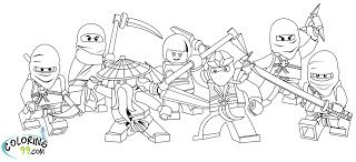 lego ninjago coloring pages - Lego Ninjago Pictures To Color