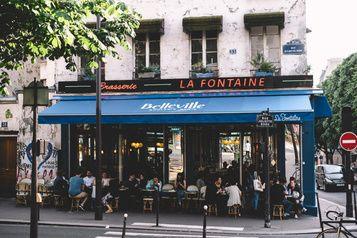 Le Paris Des Amateurs De Cafe Parisian Coffee Shop Belleville Paris Paris Coffee Shop