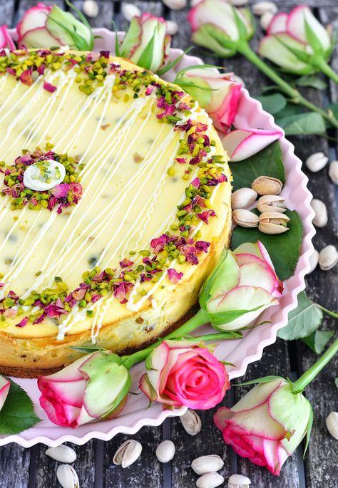 [Backen für Mutti] White Chocolate Pistachio Cheesecake mit dem Lisa Freundeskreis und den American Pistachio Growers