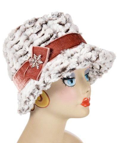f5a9040b2 Olivia Fedora Hat Style - Luxury Faux Fur in Snow Flurry (One Medium ...