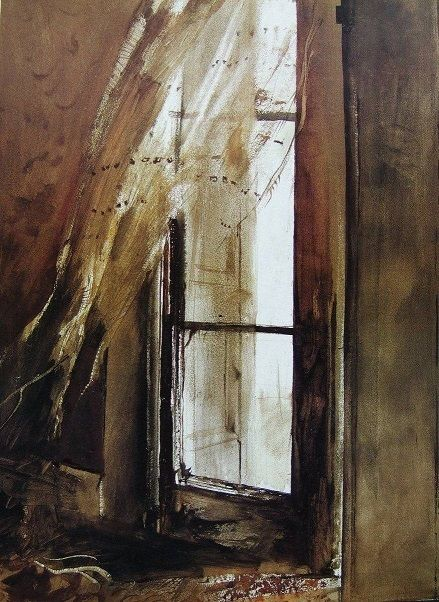 Andrew Wyeth Incoming Fog 1952 Watercolour On Paper In 2020