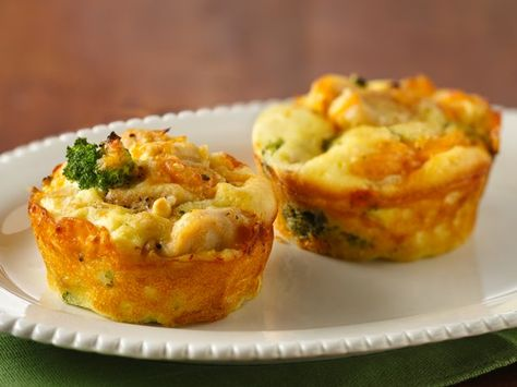 Impossibly Easy Mini Chicken 'n Broccoli Pies