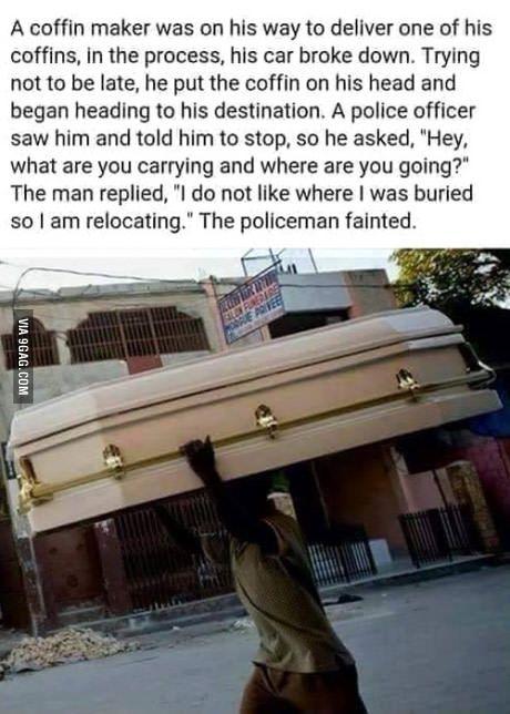 Coffin Maker
