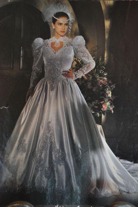 80s Wedding Dress.Pinterest