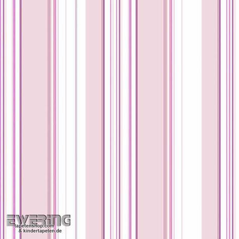 28 G56030 Just 4 Kids Vliestapete Rosa Streifen Mit Bildern Kinder Tapete Tapeten Rosa Streifen