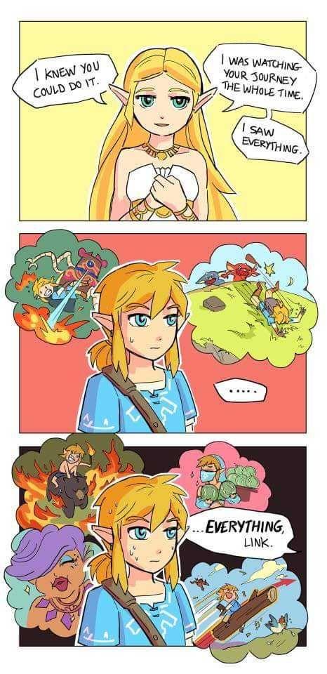 Zelda memes second attempt. | Legend of zelda memes, Zelda