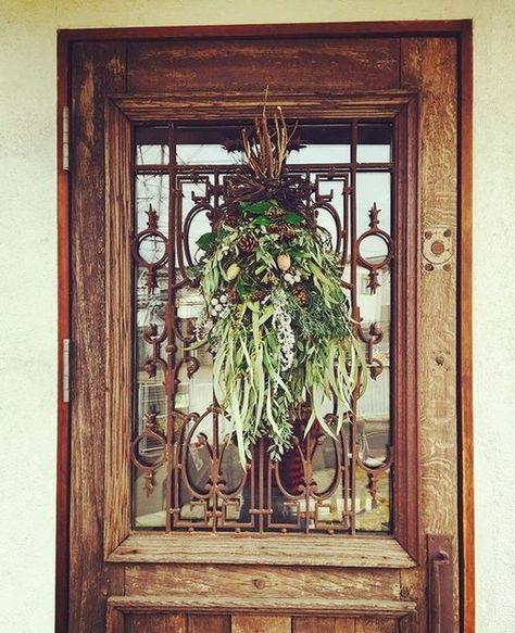 オーダーメイド ロートアイアンドア飾り アイアン工房 ドア飾り