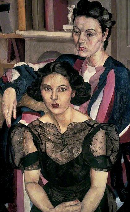 The Sisters, c.1940  Stanley Spencer  photo credit: Bridgeman Art Library