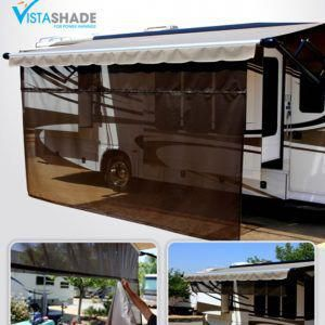 Vista Shade For Electric Rv Awnings Easy To Set Up And Use Rvcampingaccessories With Images Electric Awning Awning Shade Awning
