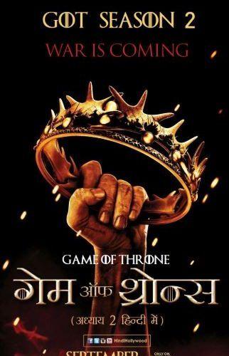 Game of Thrones S02 Complete Hindi Dual Audio 720p & 480p BRRip
