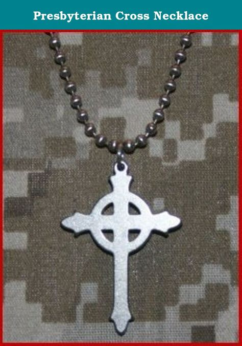 Presbyterian Cross Necklace This Cross Is A Symbol That Combines