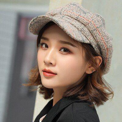 Wool Cute Beret Girl Autumn Winter Baby Hat Painter Hat Hair Accessories