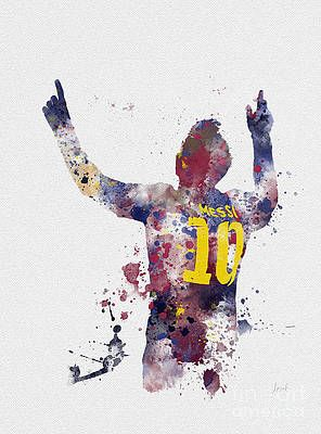 Lionel Messi Wall Art Mixed Media Messi By My Inspiration Lionel Messi Wallpapers Lionel Messi Messi