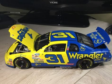 Jr Dale Earnhardt #31 Wrangler 1//18 Action 1997 Rookie Chevy Monte Carlo