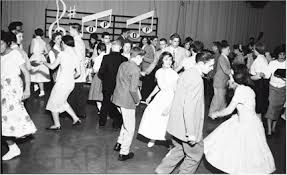 American Bandstand in the 1950's https://youtu.be/CsJWe_0mk80