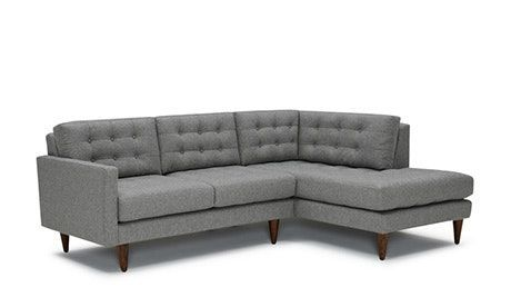Apartment Size Leather Sectional In 2020 Sofas For Small Spaces