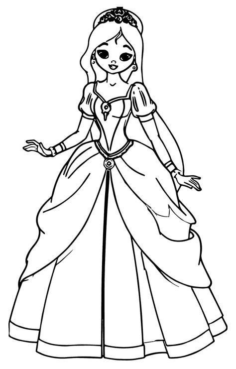 Prenses Boyama Sayfasi Prenses Boyama Sayfalari Ve Disney Cizimleri